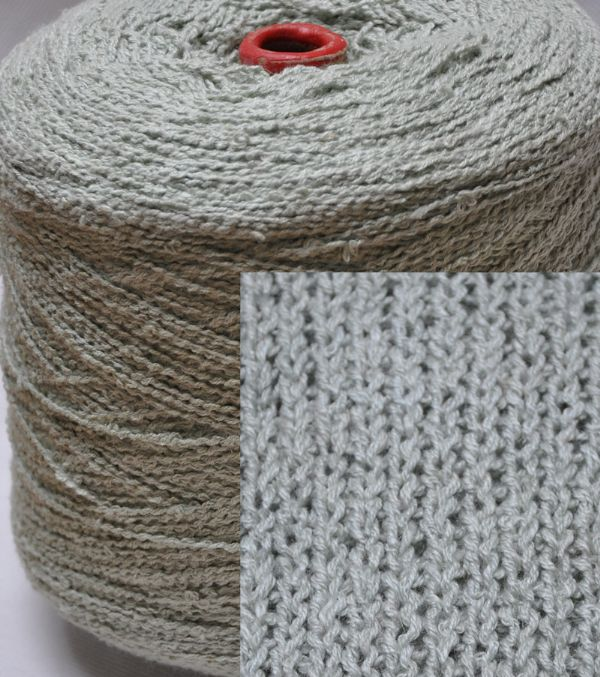 1400g Fine double knit seamist knop Ramie and cotton mix